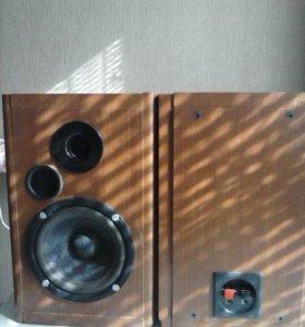 двухполосная акустика с фазоинвертором