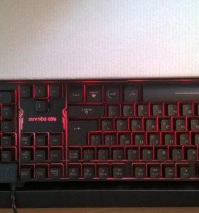 Игровая клавиатура RED square tesla