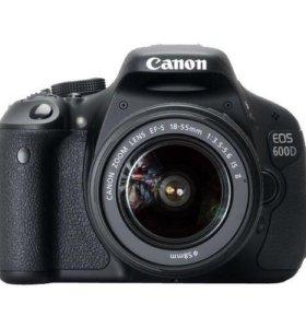 Canon 600D +18-55Kit
