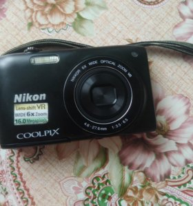 Цифровой фотоаппарат Nikon coolpix s3300 16мп