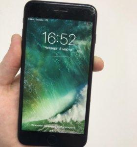 iPhone 7 plus 256gb jet black РСТ