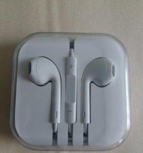 Оригинальные наушники от iPhone 5