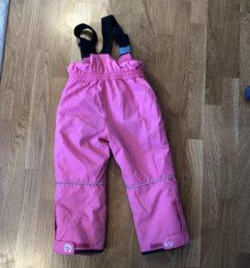 Зимние брюки Crockid 4 года