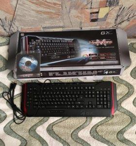 Игровая клавиатура GXgaming с подсветкой