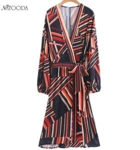 Платье халат новое