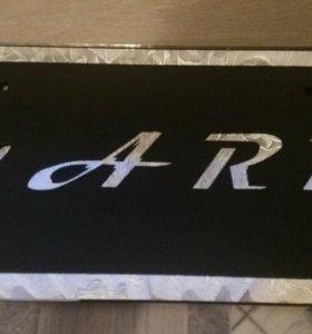 Табличка под номер