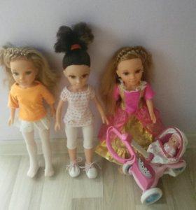 Куклы Нэнси и Майла.