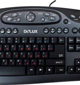 Клавиатура delux k7016