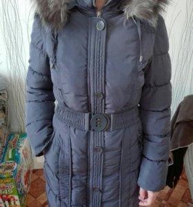 Куртка-пальто зимняя.