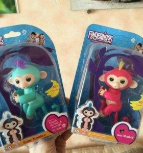 Интерактивная обезьянка Fingerling Monkey