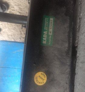 Радиатор на кару