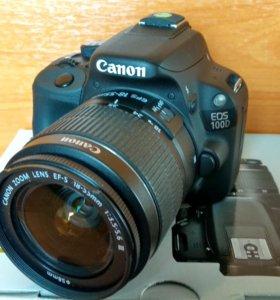 Canon 100D. Самая маленькая зеркалка.