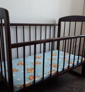 Комплект: кроватка + коляска