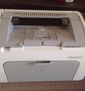 Лазерный принтер HP lj p1102