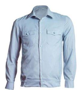 Рубашка полиции голубая новая