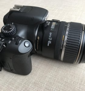 Canon EOS 550D + Canon EFS 17-85 mm