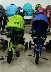 Велосипеды City на надувных колесах, новые