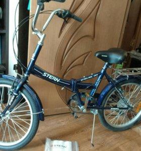 Новый велосипед stern travel 20