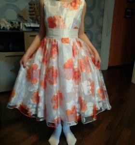 Платье 128-134
