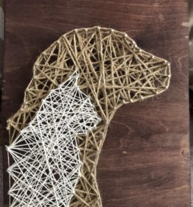 Картина стринг-арт