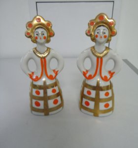 Продам статуэтки «Девушка в кокошнике» (Дулево)