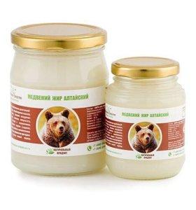 Медвежий жир Алтайский 100%