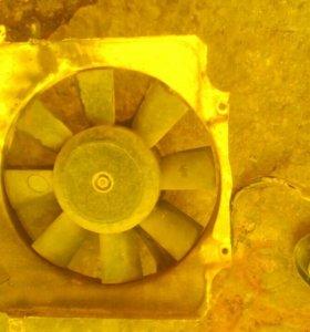 Вентилятор охлаждения ваз 2108