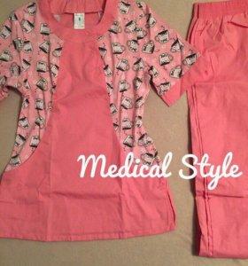 Медицинский костюм , размер 44