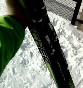 Беговые лыжи Fischer carbon lite plus