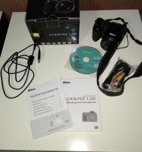 Цифровая фотокамера Nikon Coolpix L120