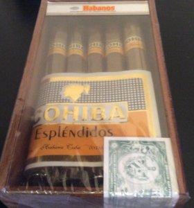 Сигары cohiba exquisitos 10 шт в коробке