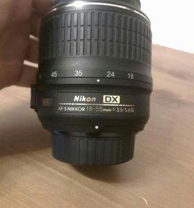 Объектив Nikon AF-S Nikkor 18-55mm 3.5-5.6G