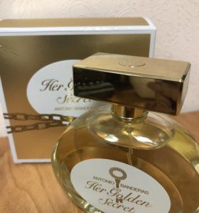 The Golden secret от Antonio Banderas 80ml