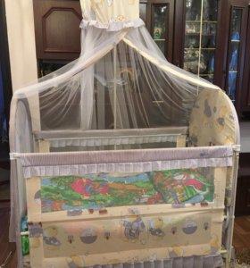 Кровать - трансформер детская