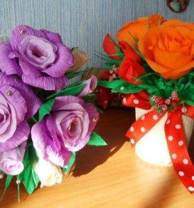 Композиции из цветов.