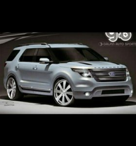 Трансфер Услуги заказ автомобиля Ford Explorer