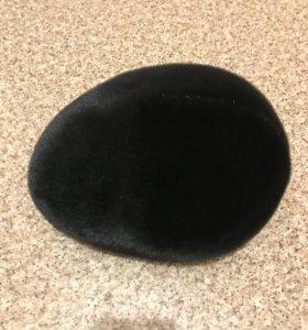 новая зимняя меховая шапка из нерпы
