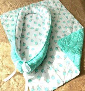 Коконы для младенца, стеганые одеяльца, бортики.