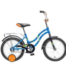 Велосипед 16 NOVATRACK TETRIS, синий,