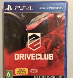 Игра Driveclub на PS4