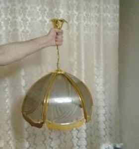 Светильник подвесной на одну лампочку