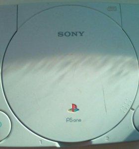 Sony PlayStation one slim - ЧИПОВАНАЯ !!!