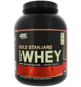 Optimum Nutrition 100% сыворотка, золотой стандарт