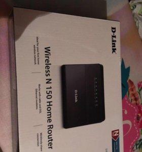 Роутр Wi Fi D-Link