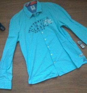Мужская клетчатая рубашка GAASTRA