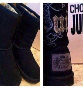 Угги Juicy Couture с аппликацией