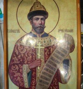 Икона николая 2,б.у.