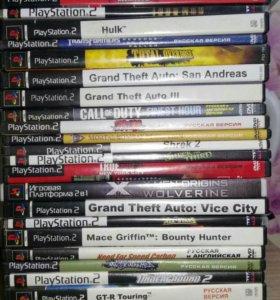 Диски оригинальные на PS2