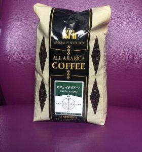 Кофе в зёрнах 0,5 кг. Япония.
