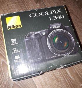 Камера Nikon Coolpix l340